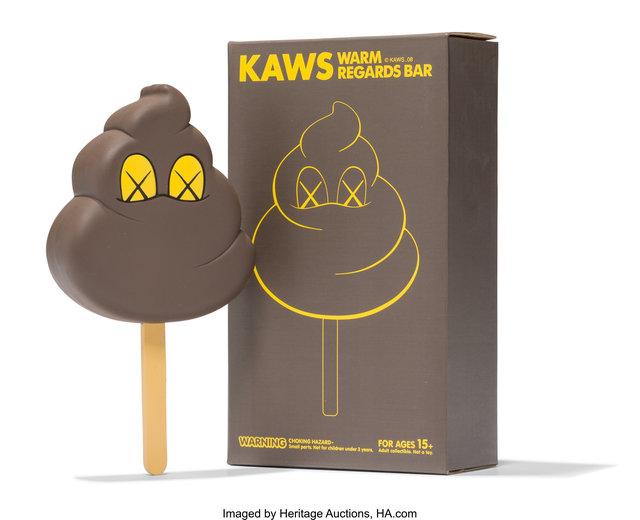 KAWS, 'Warm Regards Bar (Brown)', 2008, Heritage Auctions