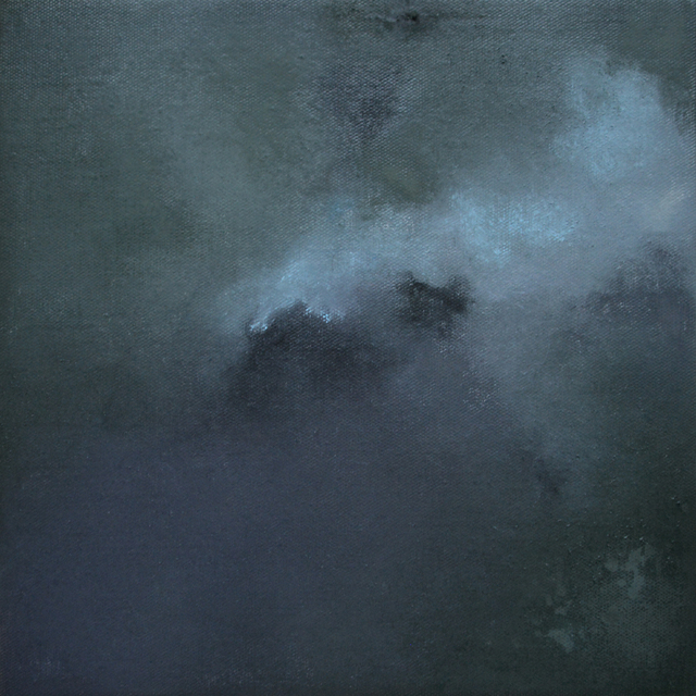 Kerstin Paillard, 'November Mist III', 2018, Painting, Pigments on linen canvas, BBA Gallery