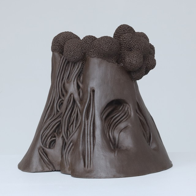 Carl Richard Söderström, 'Vulcano', 2017, Sculpture, Stoneware, Wax, Berg Gallery