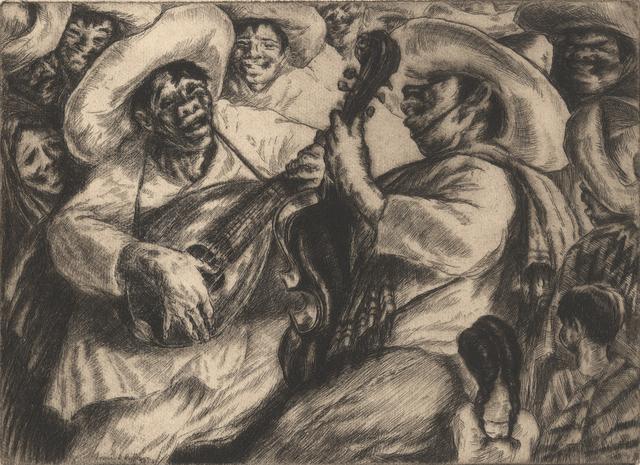 , 'La Cucaracha II,' ca. 1936, Stone + Press Gallery
