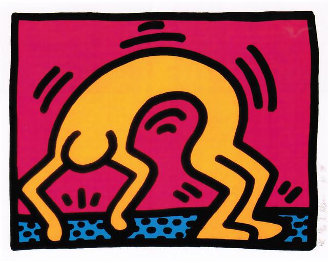 Keith Haring, 'Pop Shop II (B)', 1988, Hamilton-Selway Fine Art
