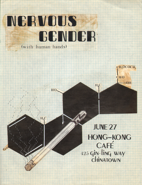 , 'Untitled Nervous Gender Gig Flyer #3,' , Coagula Curatorial