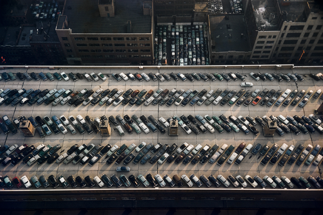 Werner Bischof, 'Roof of the bus terminal, New York, USA', 1953, David Hill Gallery