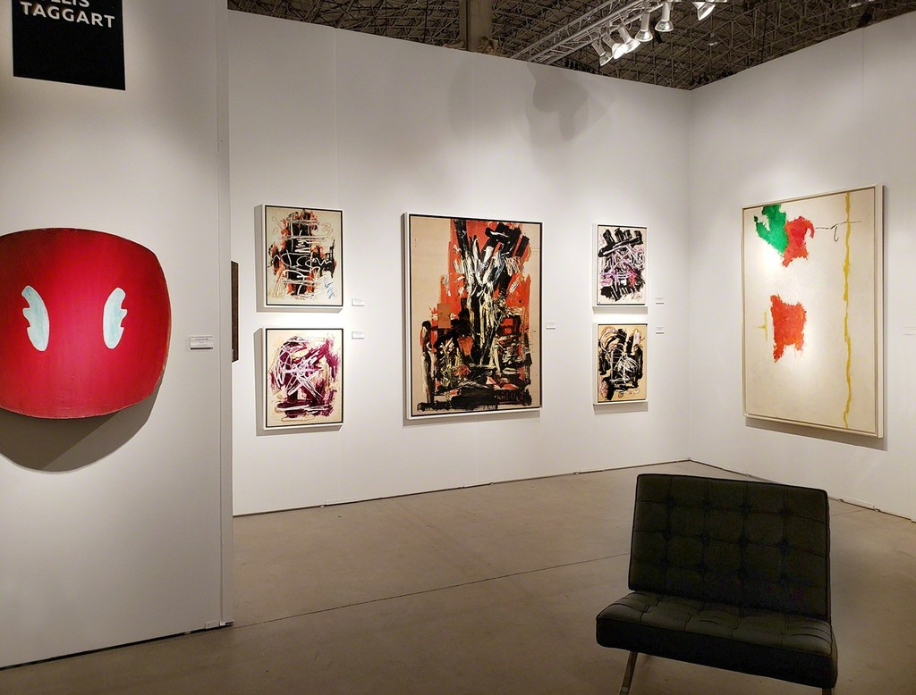Installation view: Hollis Taggart, Expo Chicago, Booth 133