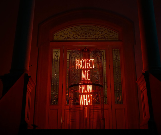, 'Protect me from what I,' 2018, MAIA Contemporary