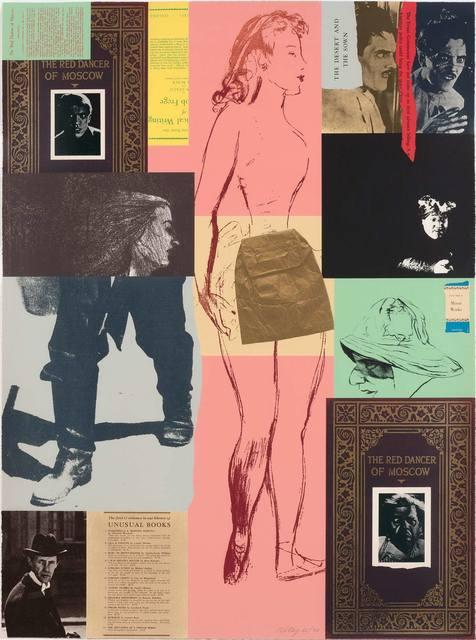R. B. Kitaj, 'RED DANCER (K. 81)', 1975, Doyle