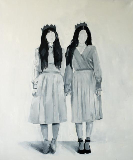 Wladymir Bernechea, 'Reinas Gemelas', 2020, Painting, Oil on canvas, Isabel Croxatto Galería