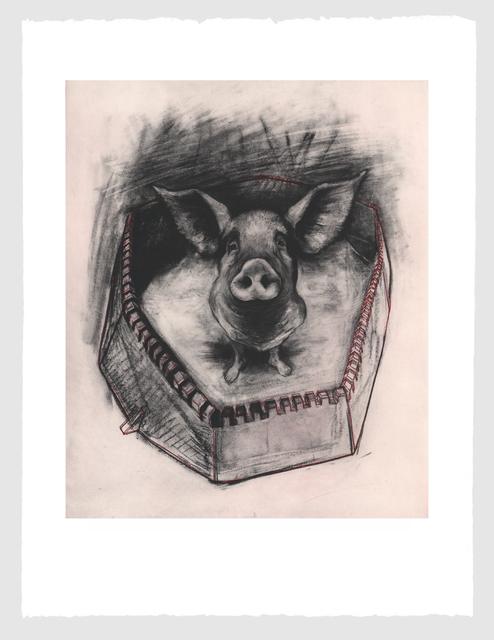 Rita Duffy, 'Pigheaded', 2013, Stoney Road Press