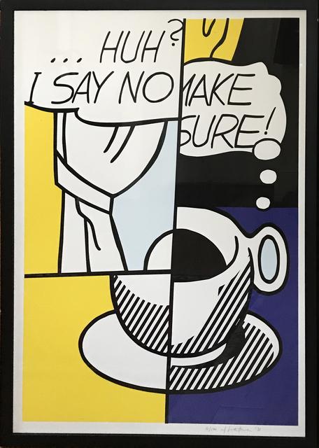, 'Huh?,' 1976, Fairhead Fine Art Limited