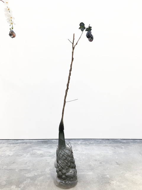 , 'Of Beauty and Decay; or, not (gray),' 2018, Malin Gallery