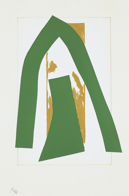 , 'Cathedral II,' 1977, Dedalus Foundation