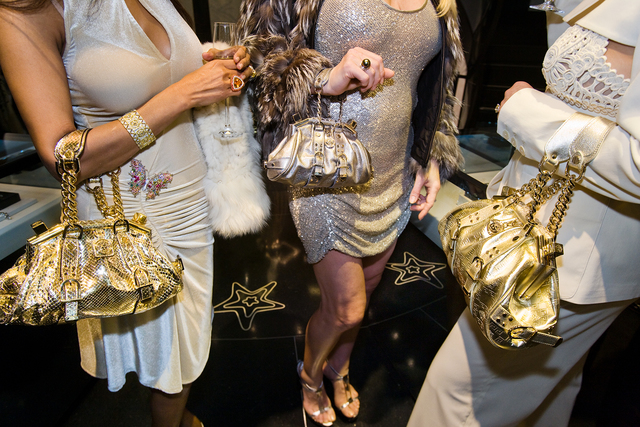 Lauren Greenfield, 'Jackie and friends with Versace handbags at a private opening at the Versace Store, Beverly Hills, Ed. 1/5', 2007, Telluride Gallery of Fine Art