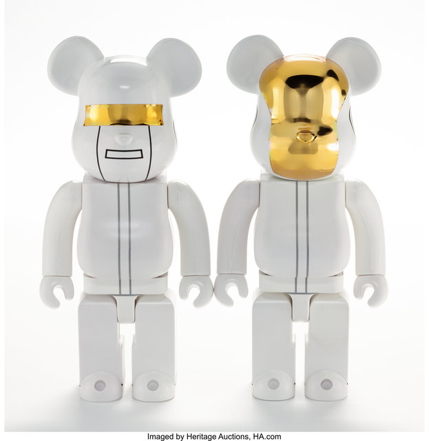 BE@RBRICK, 'White Suit 400%, two works', 2016, Heritage Auctions