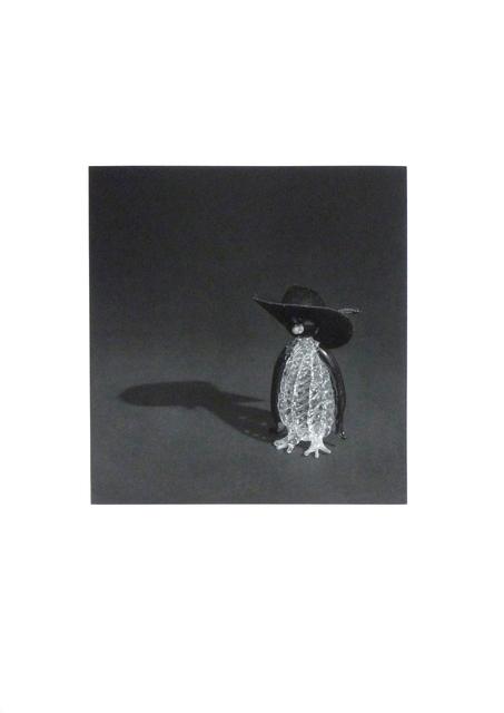 , 'Pingüino con sombrero negro,' 2009, Galería La Caja Negra