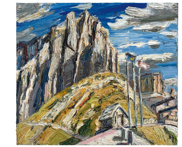 , 'Am Sellajochpass,' 2015, Ludorff