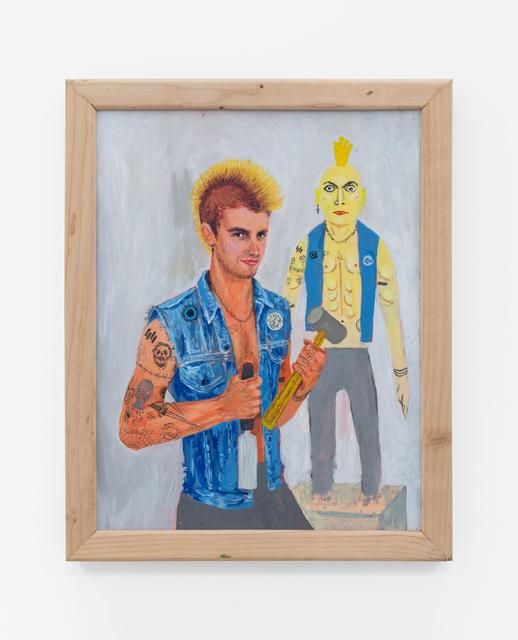 Trulee Hall, 'Sexy Self Portraits (Male Punk Version)', 2018, Maccarone