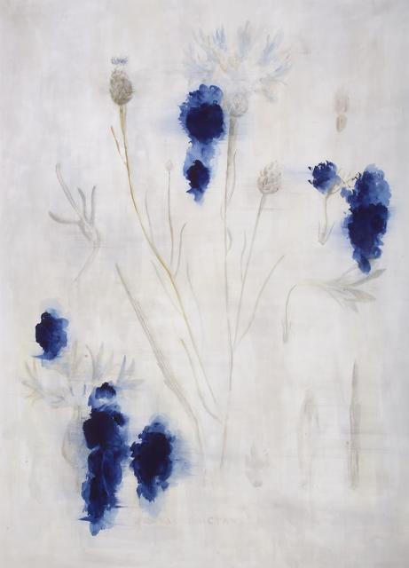 , 'Cornflower,' 2015, Parafin