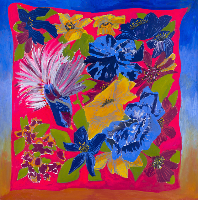 , 'Tropical Scarf,' 2017, Hashimoto Contemporary