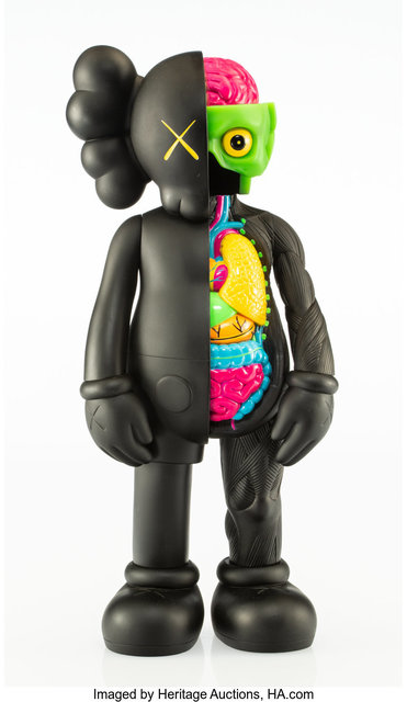 KAWS, 'Dissected Companion (Black)', 2006, Sculpture, Painted cast vinyl, Heritage Auctions