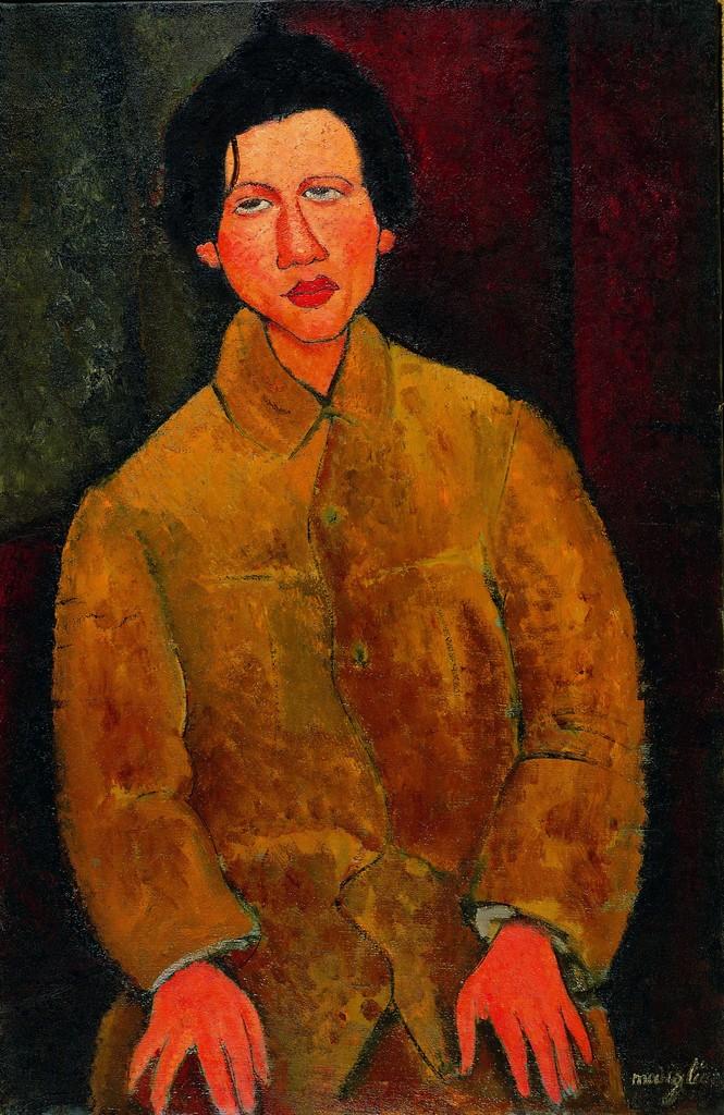 Amedeo Modigliani. Portrait de Soutine