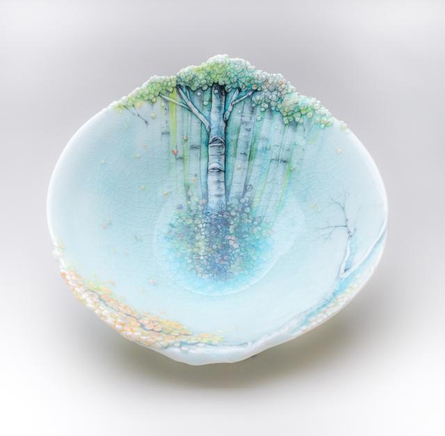 , 'Landscape Bowl,' 2016, Jane Hartsook Gallery