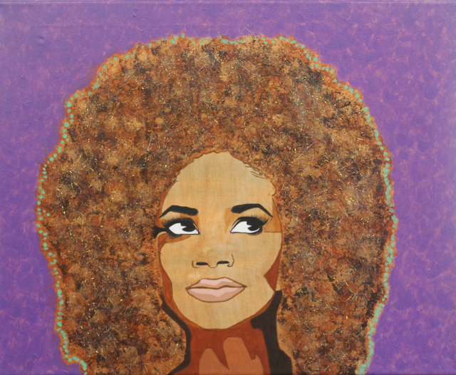 , 'Don't Touch the Fro,' 2015, ArtLifting