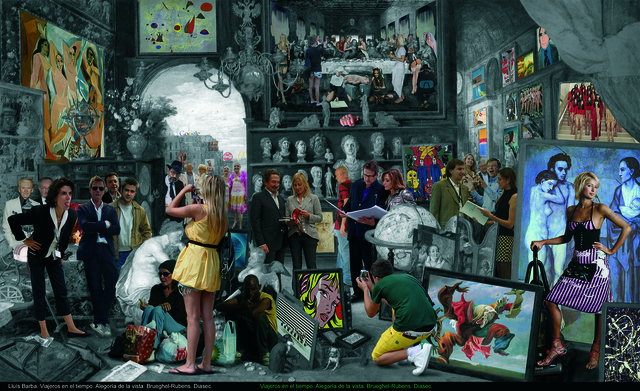 , 'Allegory of the view. Brueghel,' 2009, Galeria Contrast
