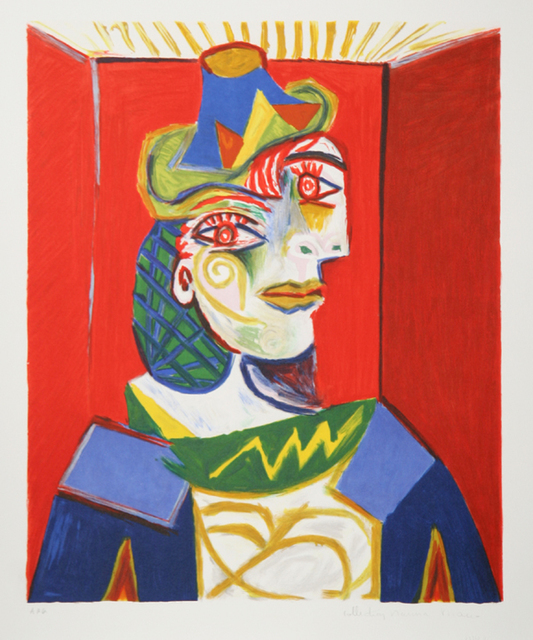 Pablo Picasso, 'Buste de Femme', 1973-original created in 1939, RoGallery