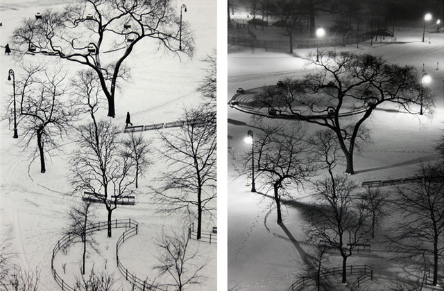 , 'Washington Square, Day and at Night (Two Oversized Prints),' 1954/1970s, Contemporary Works/Vintage Works