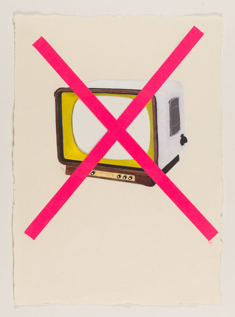 , 'in my opinion, all problems are ones of missing or flawed communication,' 2015, Galerie Clemens Gunzer
