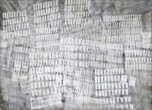 Tancredi, 'Untitled (Luci di Venezia)', ca. 1958, Painting, Tempera on paper mounted on canvas, Art D2 Modern and Contemporary art