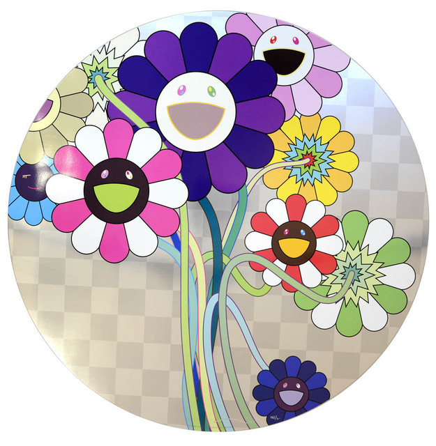 Takashi Murakami, 'Purple Flowers in a Bouquet', 2010, Hang-Up Gallery