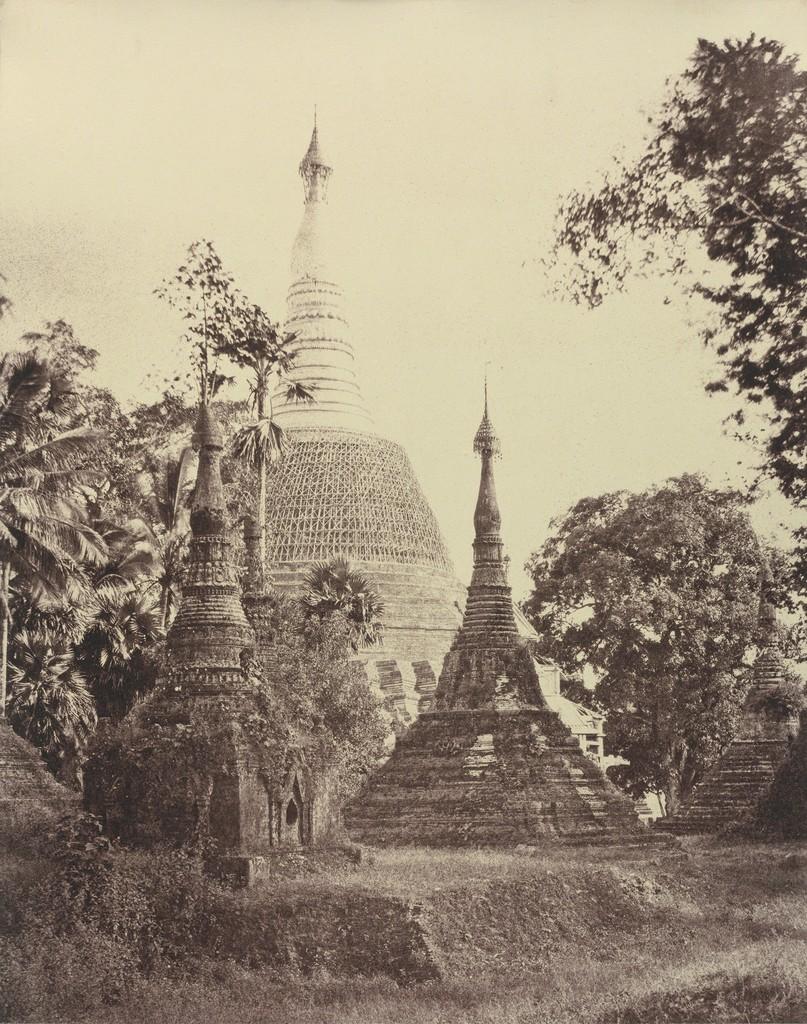 Linnaeus Tripe, 'Rangoon: Near View of the Shwe Dagon Pagoda, November 1855' © National Gallery of Art, Washington, Edward J. Lenkin Fund