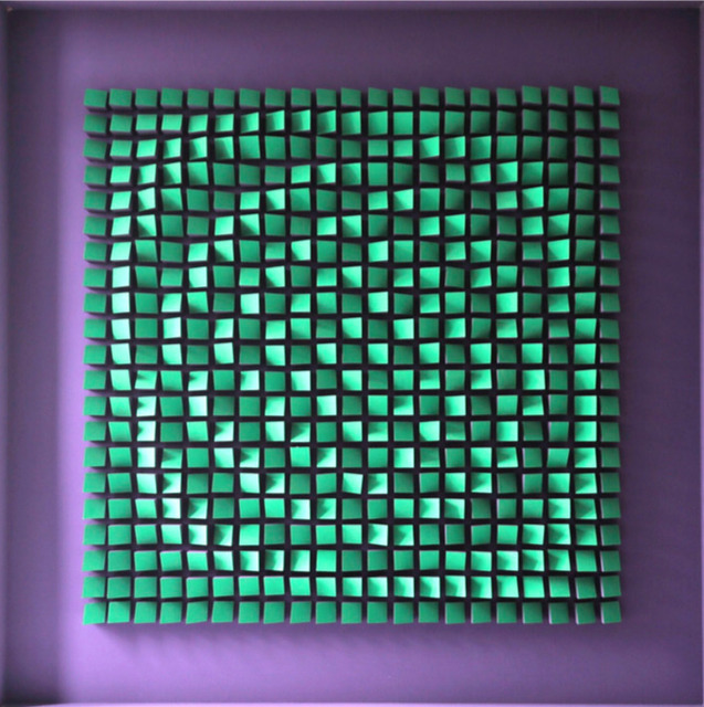 , 'Relief   Viloet et Vert,' 1960-1961, Sicardi Gallery