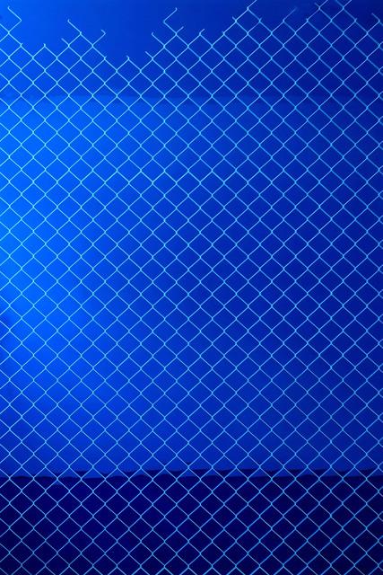 Paul Hosking, 'Bound (blue)', 2017, Michael Fuchs Galerie