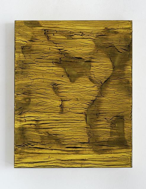 , 'Sous-chrome 1,' 2017, Galerie Greta Meert