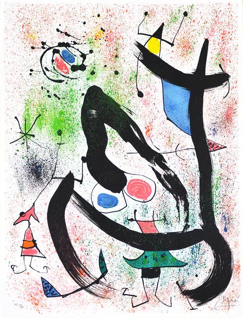 Joan Miró, 'Les Voyants (The Seers)', 1970, Kings Wood Art