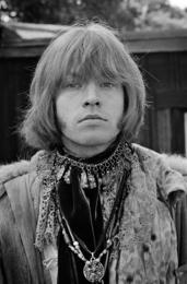 Brian Jones Close Up at Monterey Pop Festival, 1967