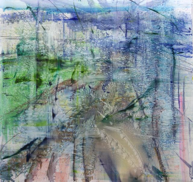 , 'Water Painting,' 2017, DANESE/COREY