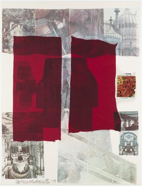 Robert Rauschenberg, 'Why You Can't Tell', 1979, Kunzt Gallery