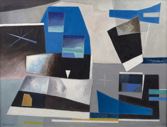 , 'Solid Against Loose Forms,' 1983, Debra Force Fine Art
