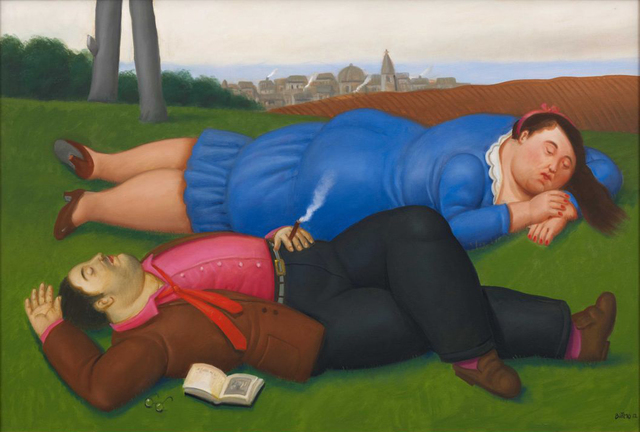 , 'Couple on the Grass,' 2012, Element Art Space