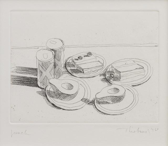, 'Lunch,' 1964, Susan Sheehan Gallery