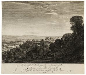 Ceres seeking her Daughter, after Adam Elsheimer (1578-1610)