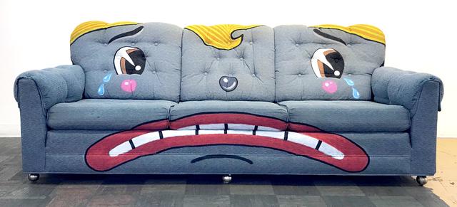 , 'Sad Clown Sofa,' 2018, La Luz de Jesus Gallery