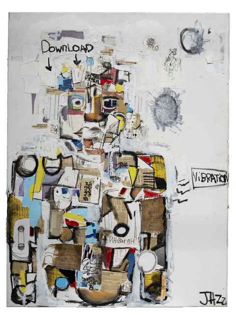 JAZZ, 'Download', 2019, Bruce Lurie Gallery