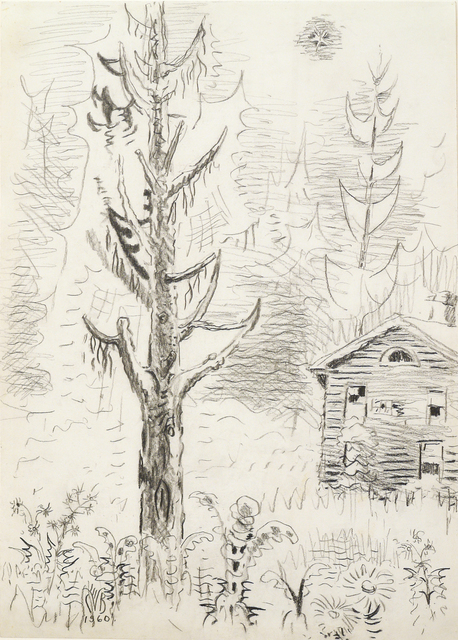 , 'Pine Tree and Star,' 1960, DC Moore Gallery