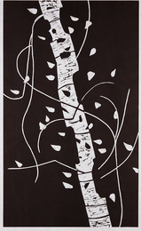 Alex Katz, 'Large Birch,' 2005, Phillips: Evening and Day Editions (October 2016)