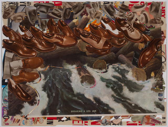 , 'Log Jam,' 2015, Conduit Gallery