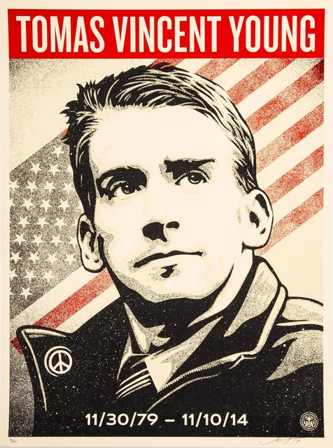 Shepard Fairey, 'Thomas Young Tribute', 2017, Heritage Auctions